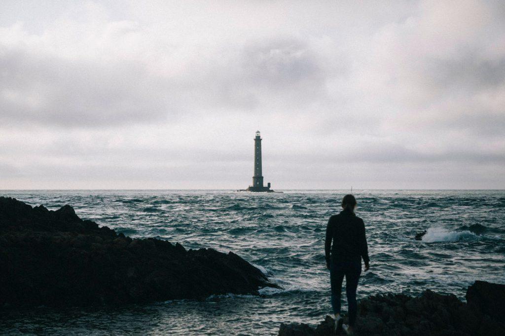 le phare de Goury et son ambiance apocalyptique