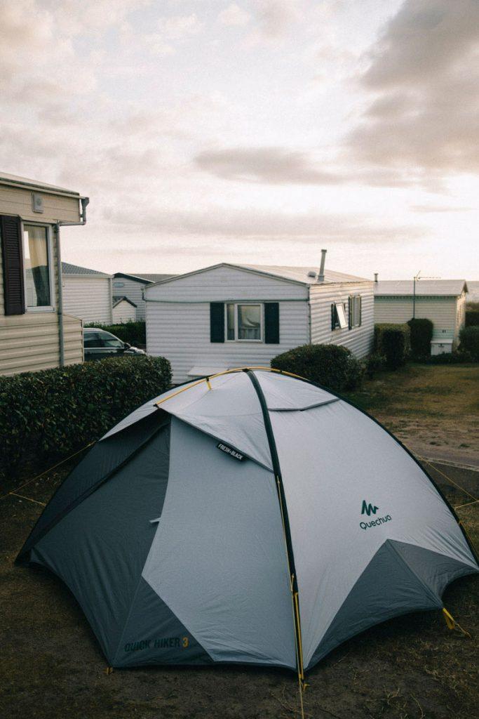 le camping des étoiles à gouville sur mer