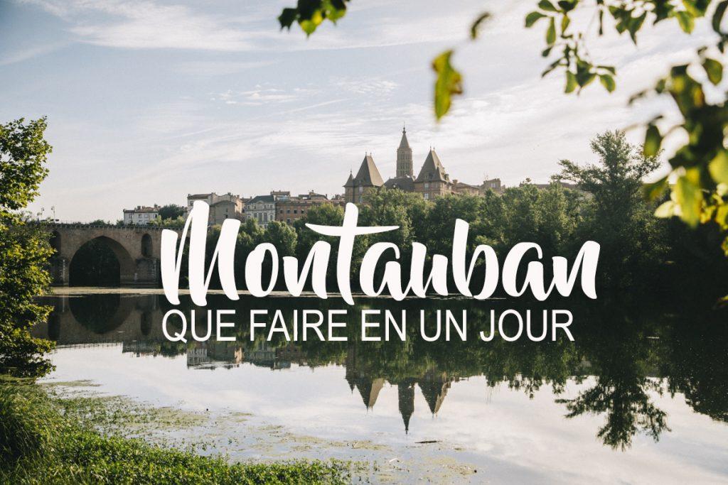 Montauban, la ville rose du sud ouest. Que voir et que faire en une journée ?