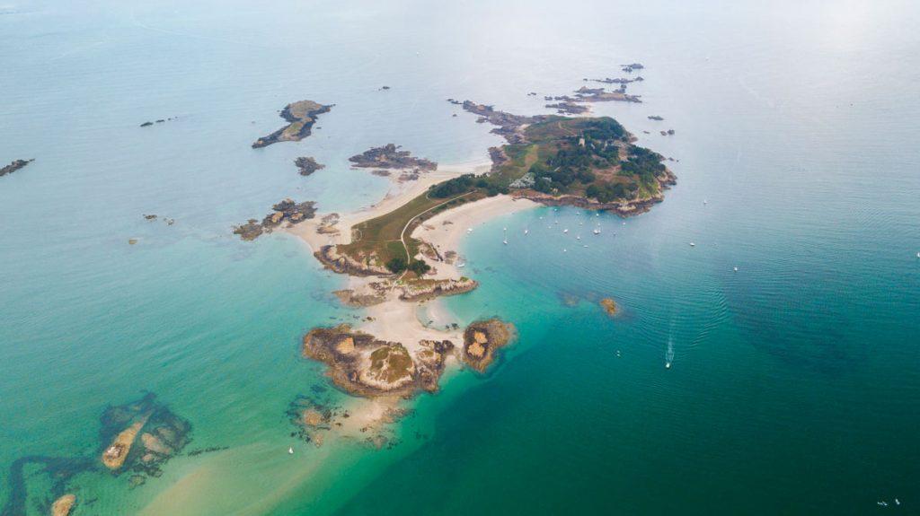 L'archipel des îles Ebihens