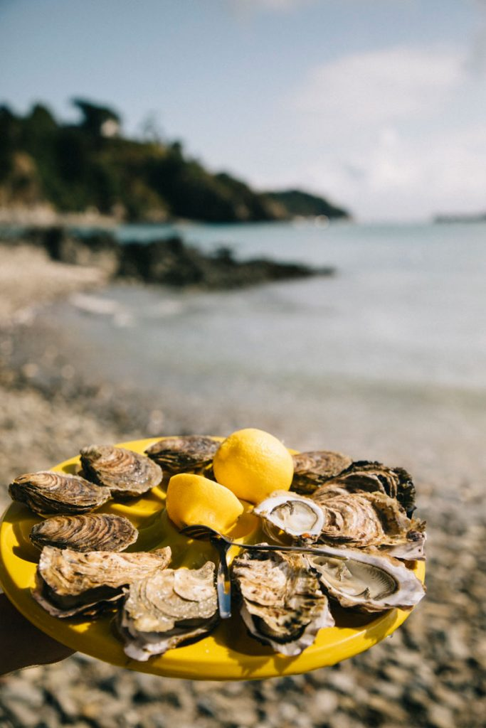 dégustation huîtres à Cancale