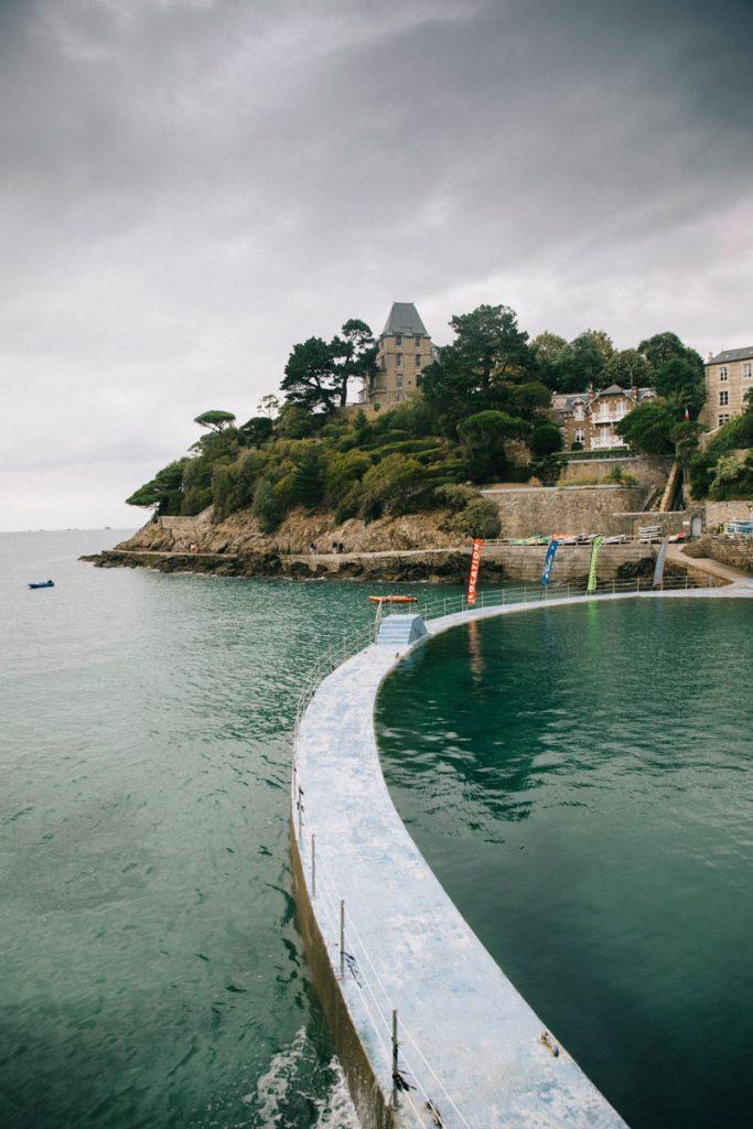 piscine de la ville de Dinard