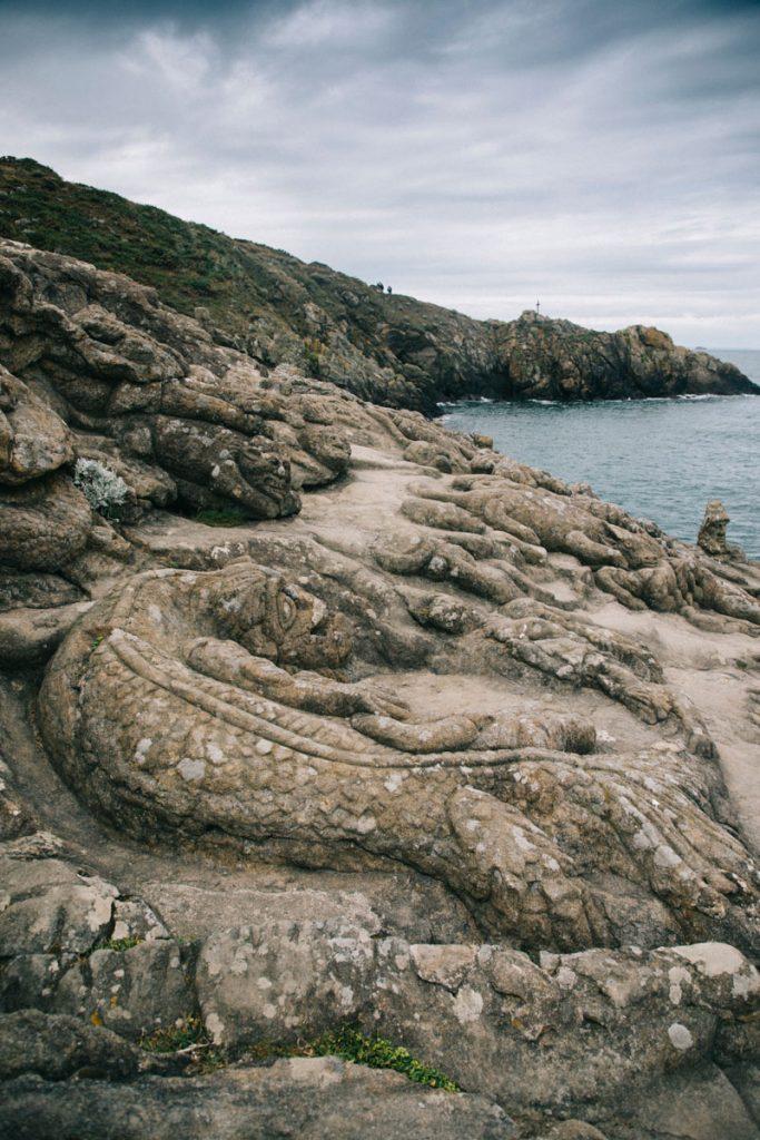 les roches sculptée de Réthoneuf