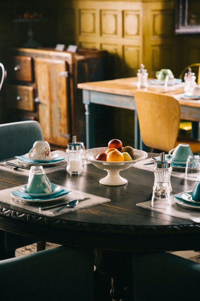 petit-déjeunerons à l'hôtel du commerce