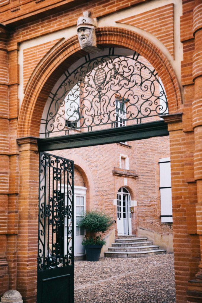 les hôtels particuliers en briques roses
