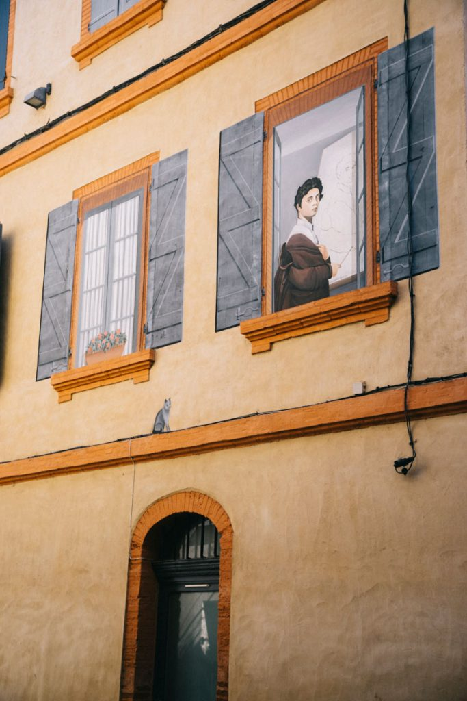 la trompe l'oeil de Ingres à Montauban