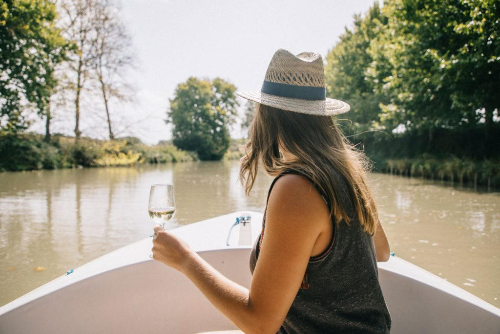 balade en bateau sans permis sur le canal du Midi
