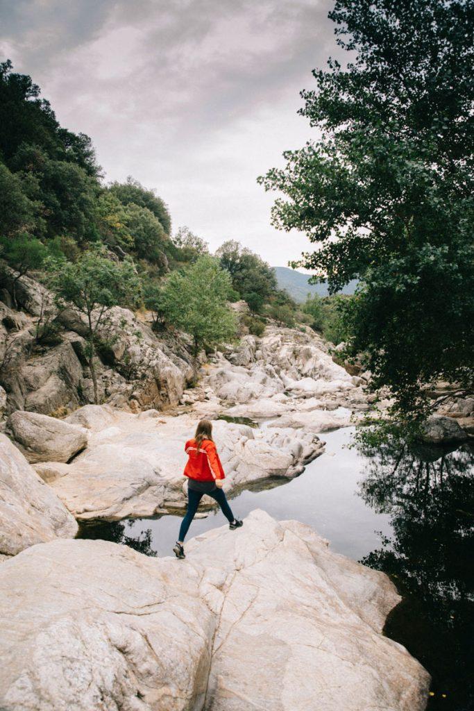 visite des gorges d'Héric dans le Haut-Languedoc