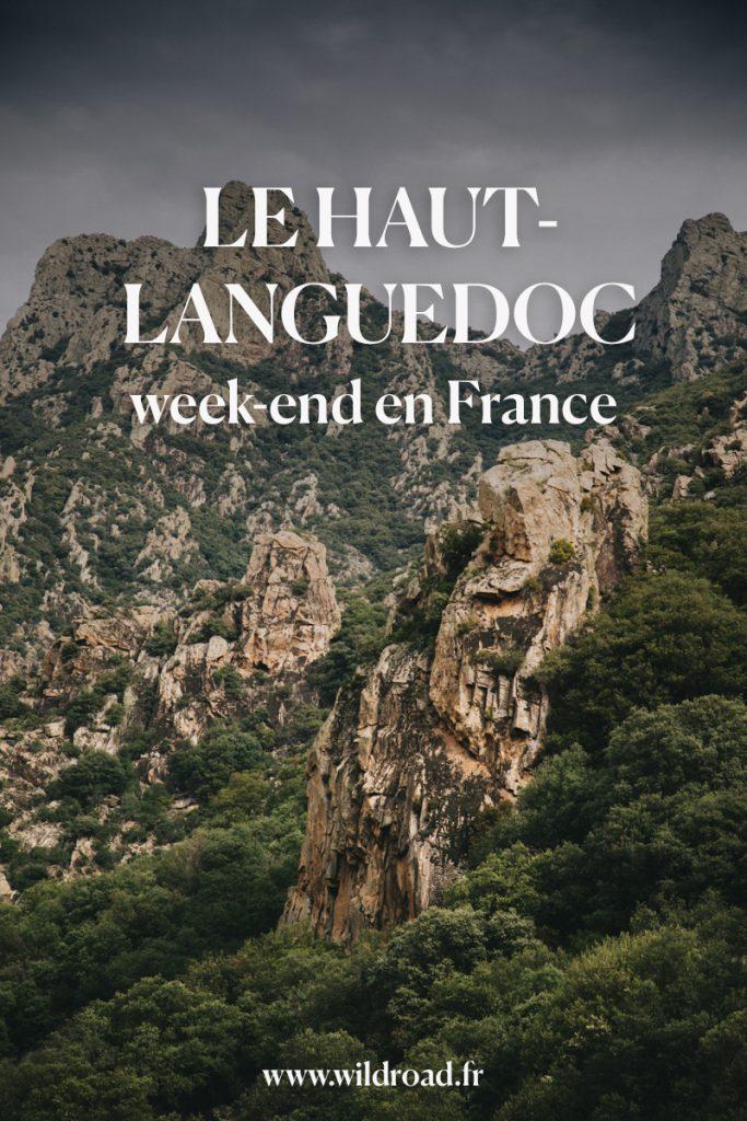 que faire en un week-end dans le parc régional du Haut-Languedoc