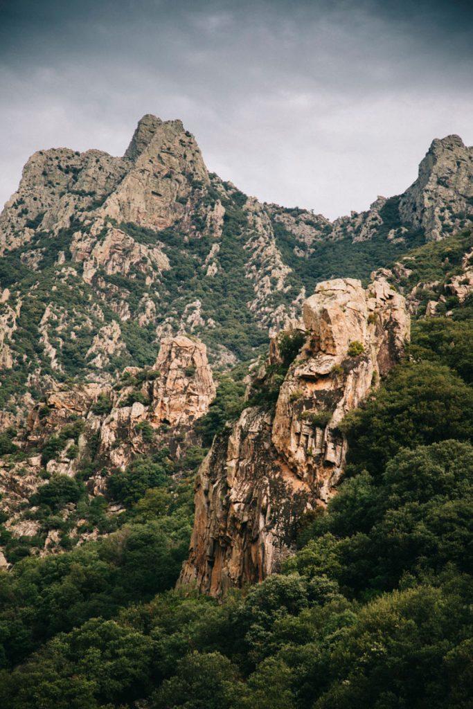 le massif du Caroux dans le Haut-Languedoc