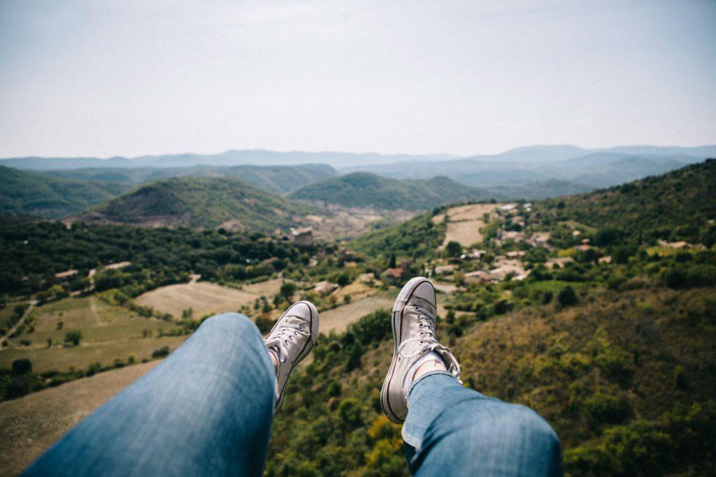Faire un bapteme de parapente dans le Haut-Languedoc