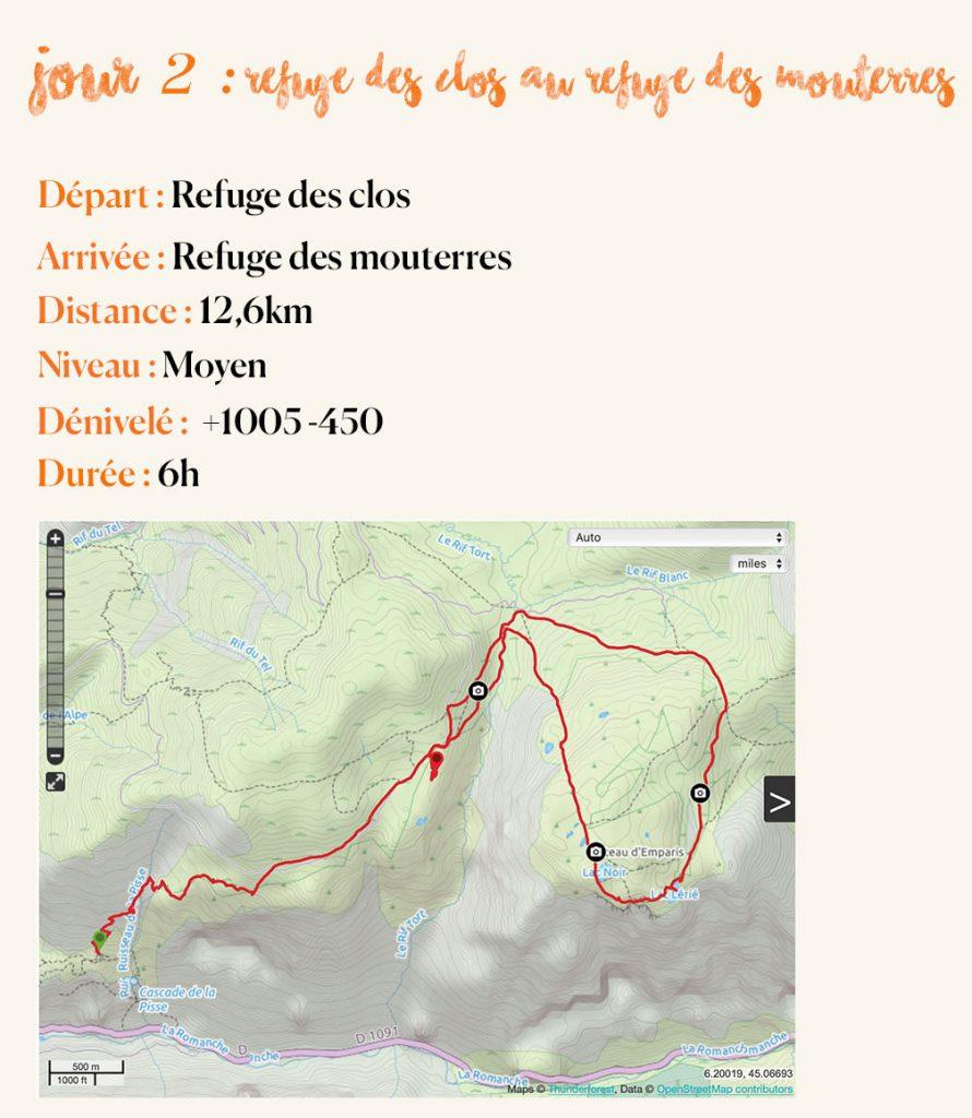 topographie jour 2 plateau d'Emparis