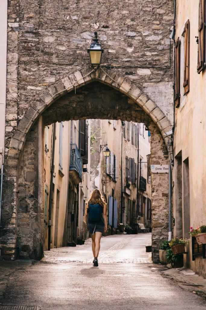 visite de la cité médiévale d'Olargues