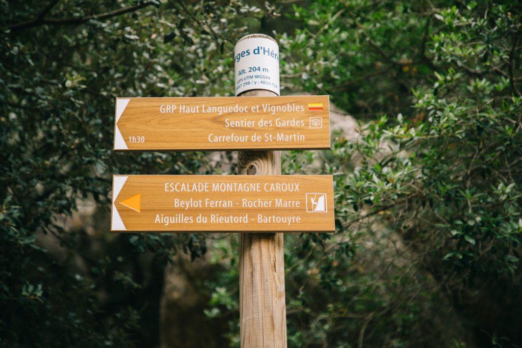 Les sentiers de randonnée dans le massif du Caroux