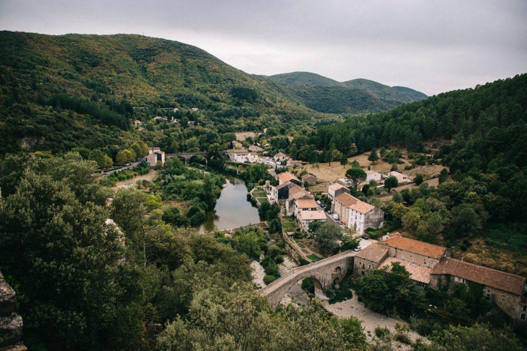visiter le week-end les villages du Haut-Languedoc