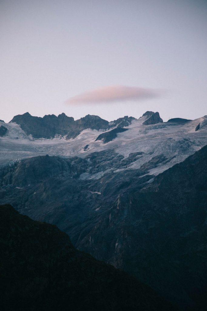 glacier du Rateau et de la Meije