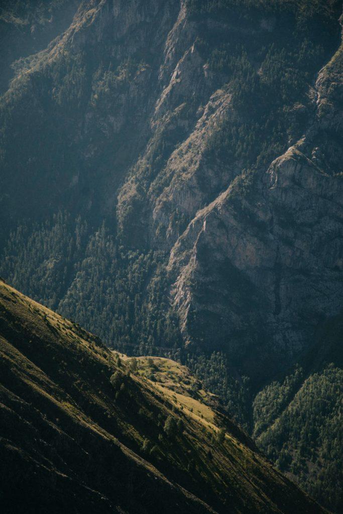 détail dans la montagnes du massif des Écrins