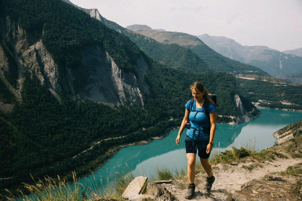 tour du plateau d'emparas et le lac du chambon
