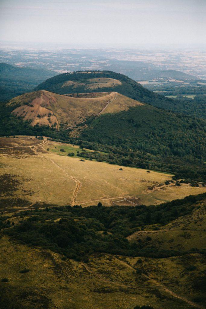 les volcans d'Auvergne avec le puy Pariou