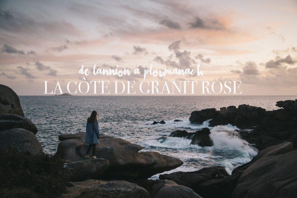 découverte de la côte de Granit Rose en Bretagne
