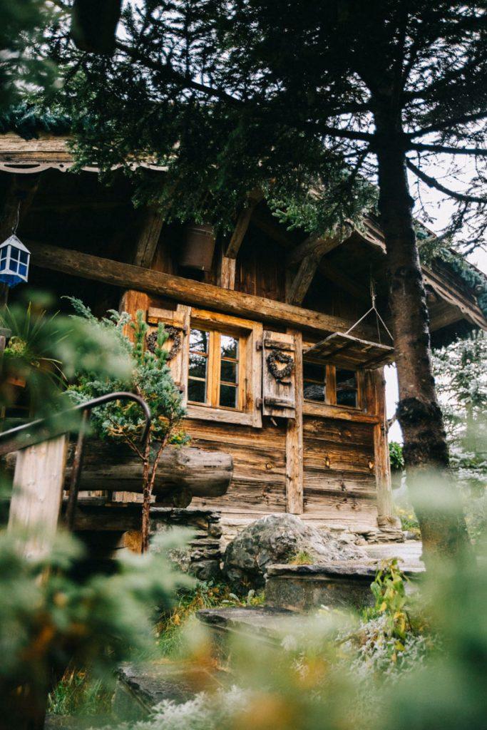 les chalets de philippe hébergement insolite à Chamonix