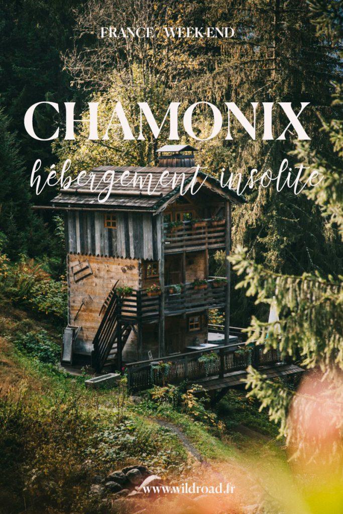 dormir dans un hébergement insolite à Chamonix