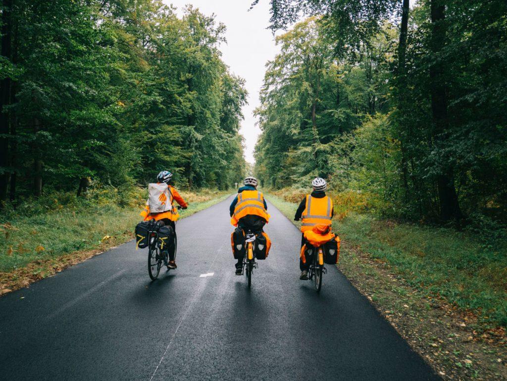 la foret de Compiègne à vélo