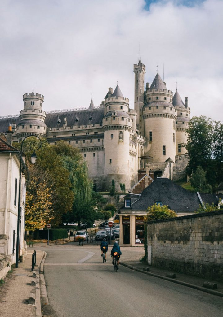 la chateau de Pierrefonds