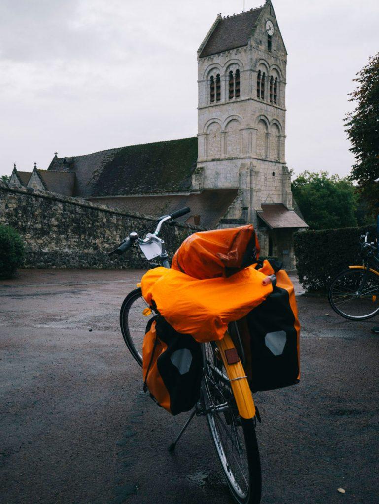 notre fidèle destrier pour la MadJacques à vélo