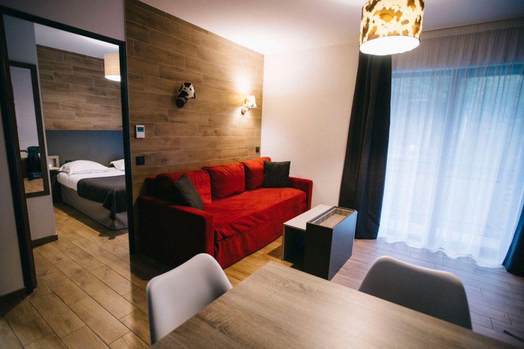 appartement hôtel résidence Odalys à Chamonix