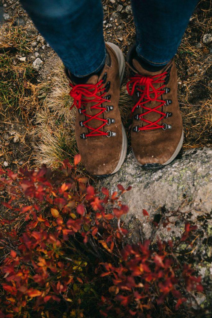 mes chaussures de randonnée pour Chamonix