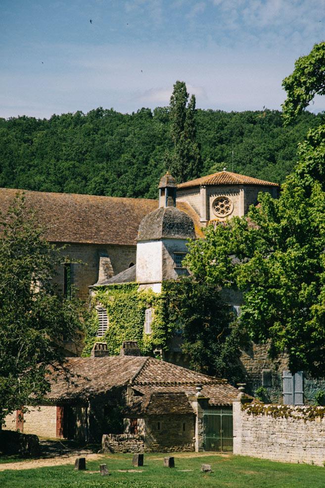 l'abbaye de Beaulieu dans le Tarn et Garonne