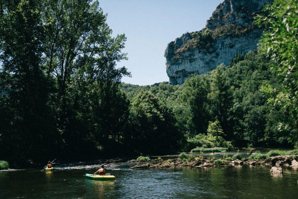 Kayak sur l'Aveyron dans le Tarn et Garonne