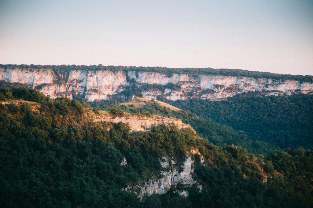 panorama sur les gorges de l'Aveyron