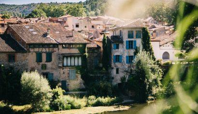 vue sur le village de Saint-Antonin-Noble-Val