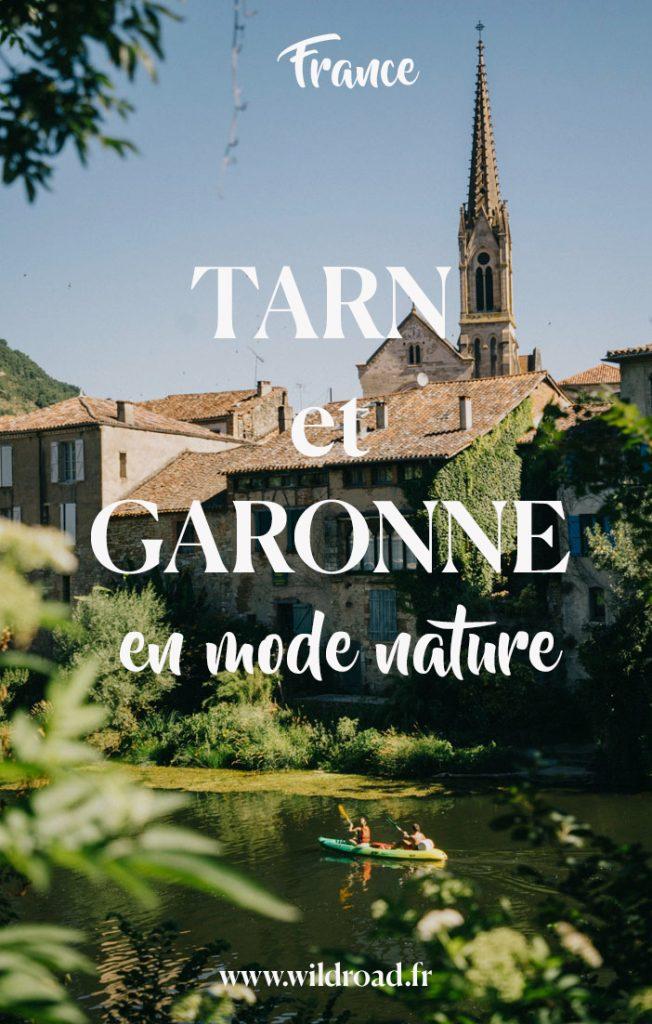 à la découverte du Tarn et Garonne en mode nature durant une semaine