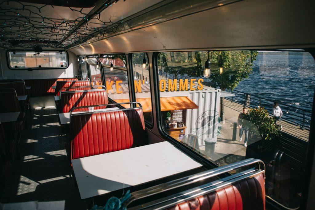 le bus de Pyke-n-pomme un food truck à Derry
