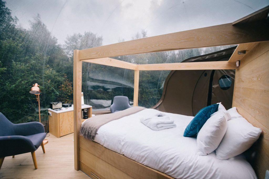 dormir dans une bulle en Irlande