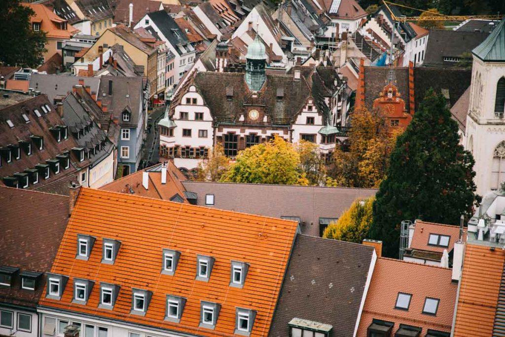 la vue depuis le clocher de la cathédrale