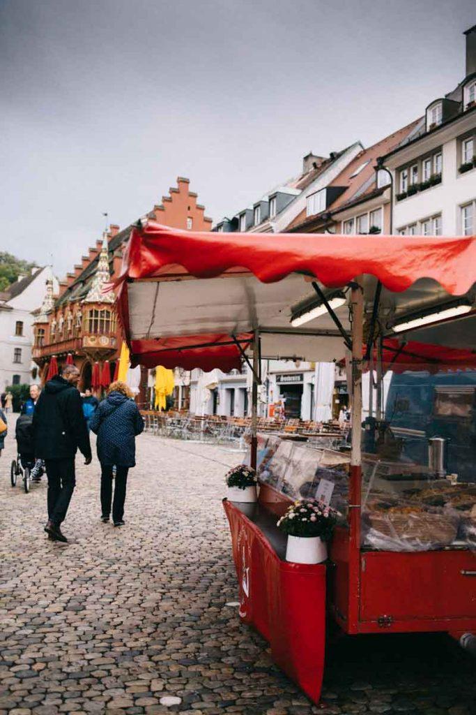 le marché de la cathédrale à Fribourg