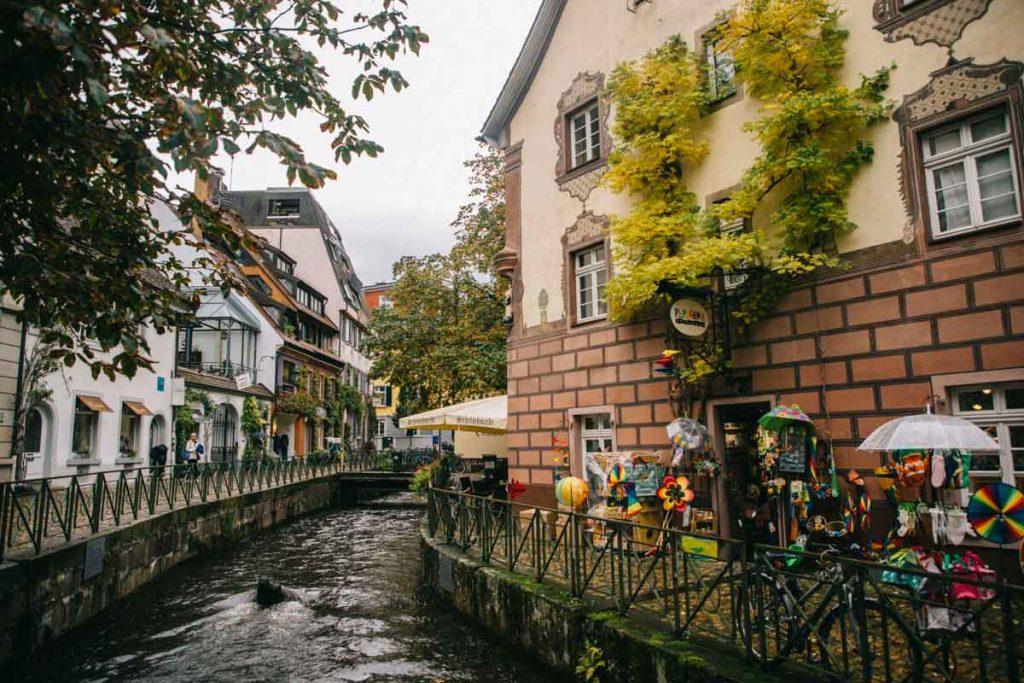 le quartier de la petite Venise