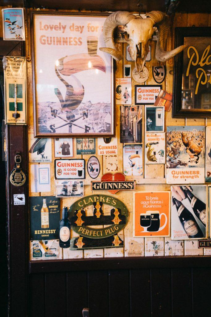 affiche vintage et bonnes adresses à Donegal