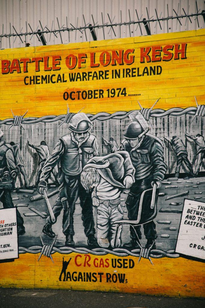 visiter le mur de la paix à Belfast