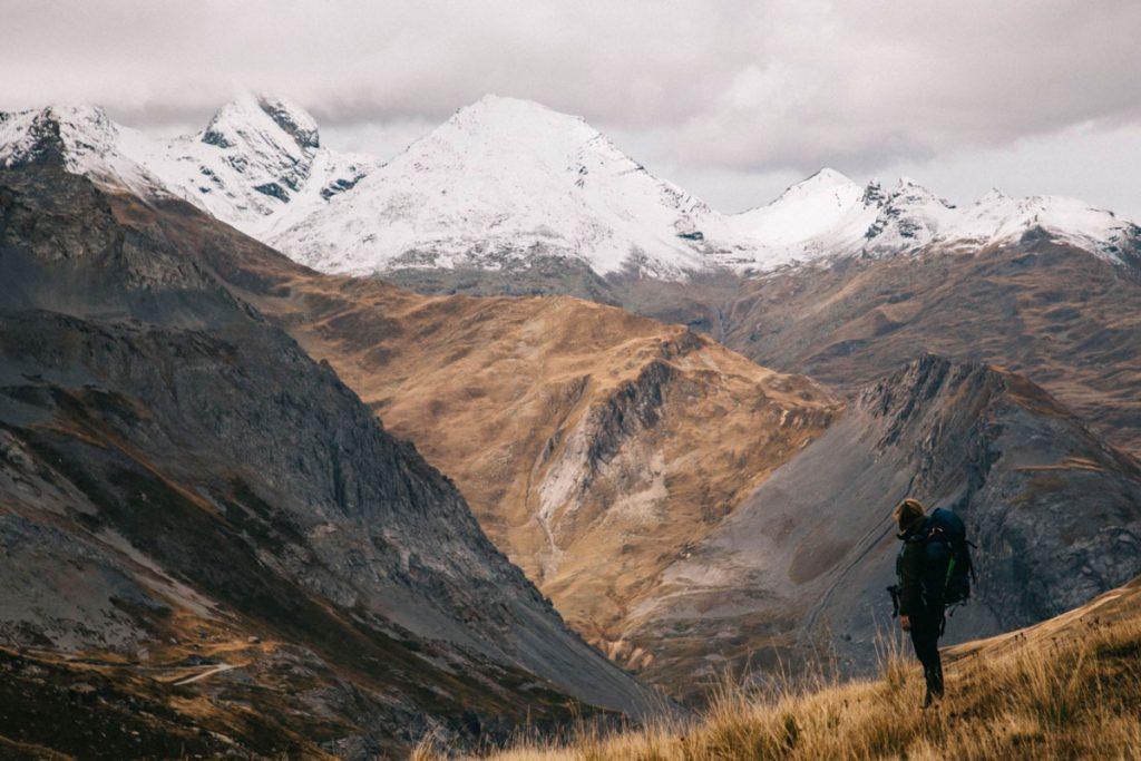 Les aiguilles d'aires dans le massif des Écrins