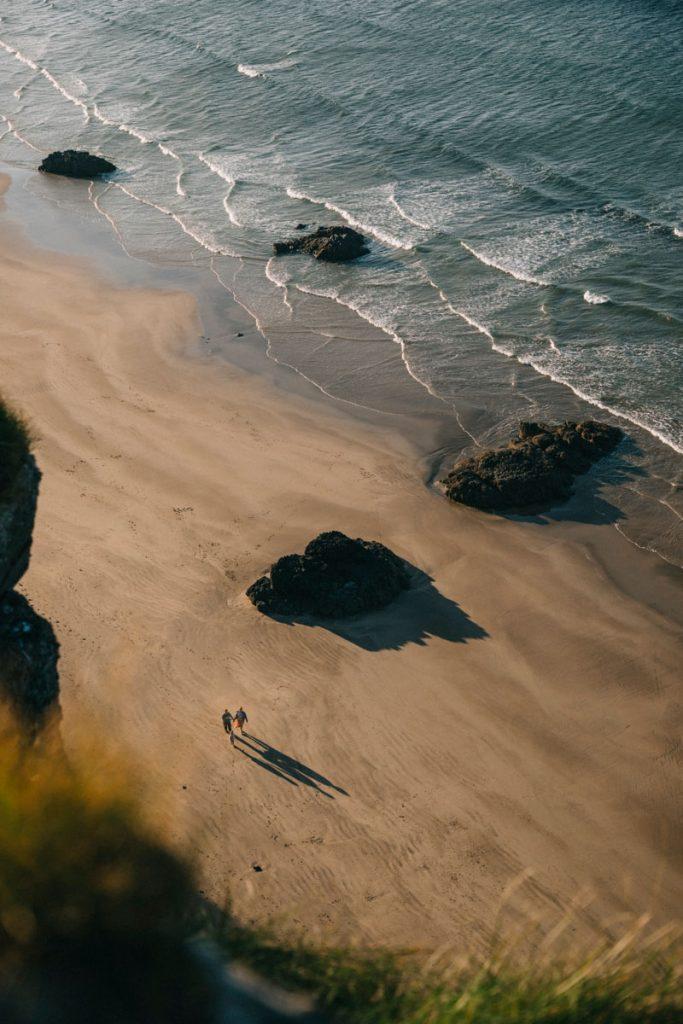 se balader sur la plage de Castlerock