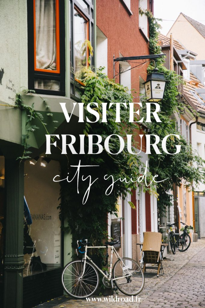 visiter en un jour Fribourg, la capitale de la forêt noire en Allemagne