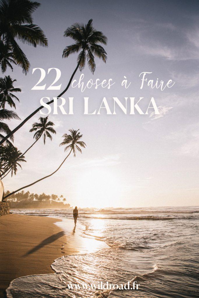 22 expériences incontournables à faire au Sri Lanka