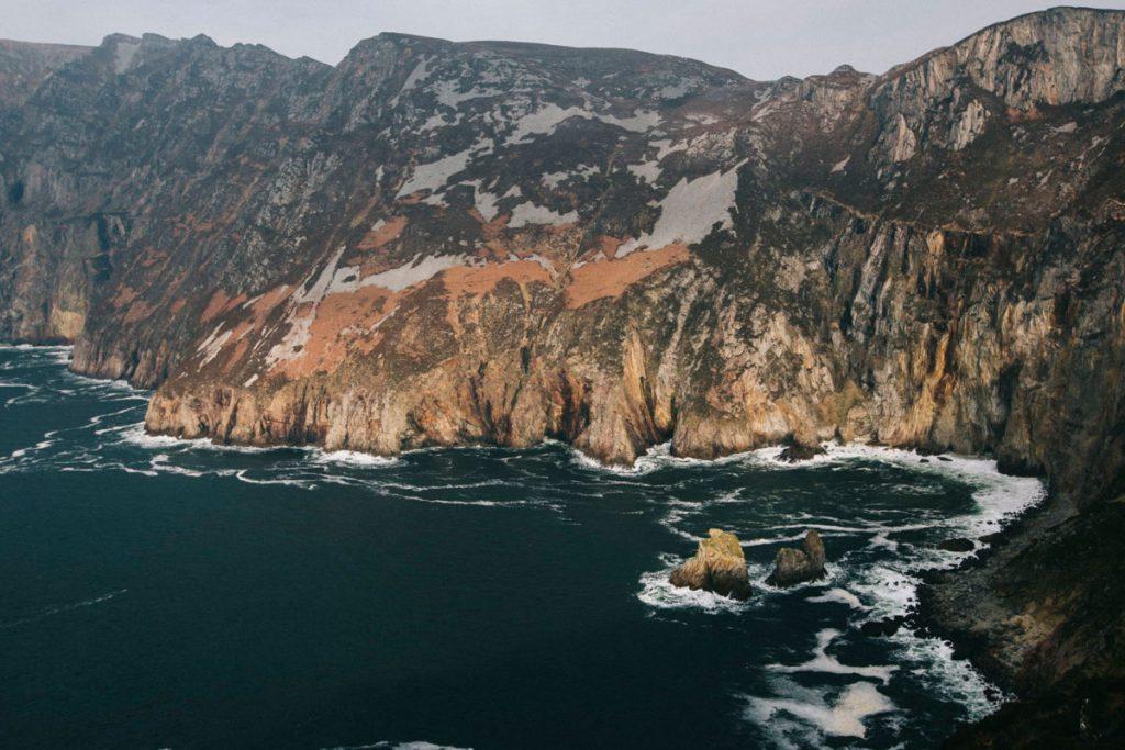les falaises de Slieve League dans le comté de Donegal