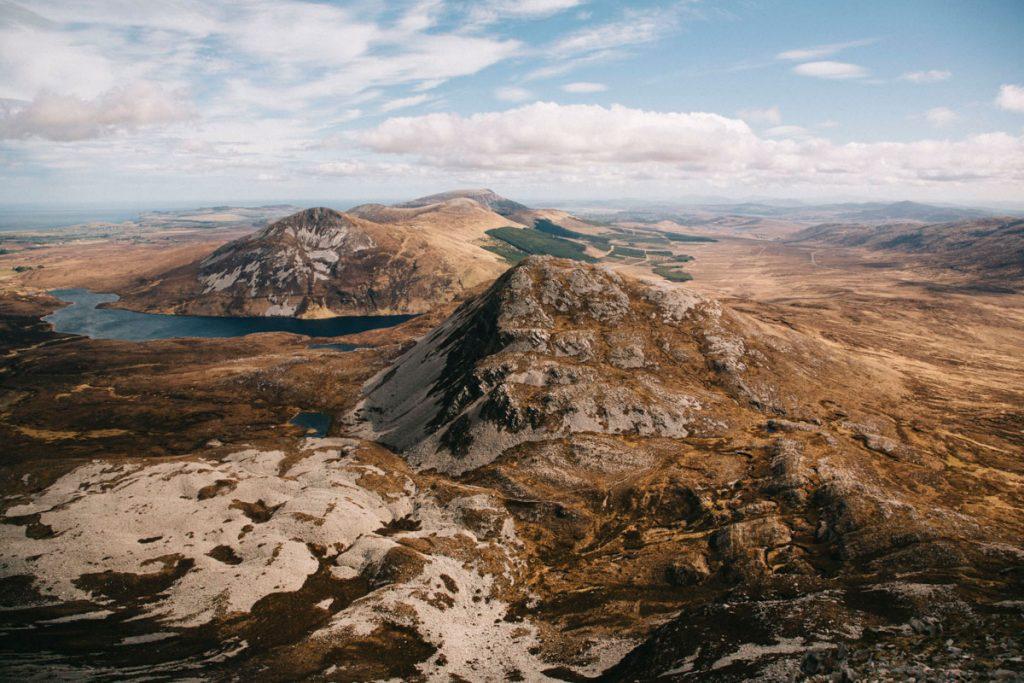randonnée au sommet du mont Errigal
