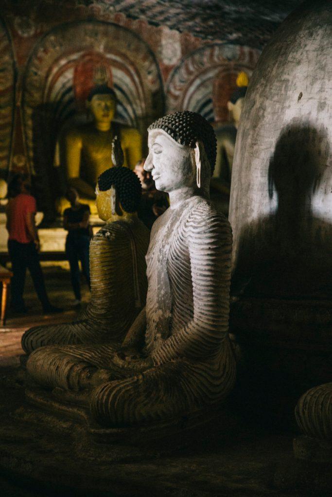 les grottes sacrée de Dambulla
